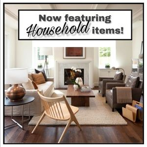 Now featuring Household items!